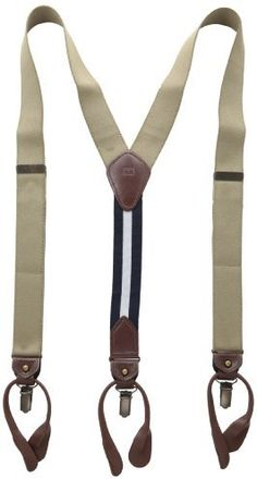 $25, 32mm Suspender With Convertible Clip Button End And Strap by Tommy Hilfiger. Sold by Amazon.com. Click for more info: http://lookastic.com/women/shop_items/13181/redirect