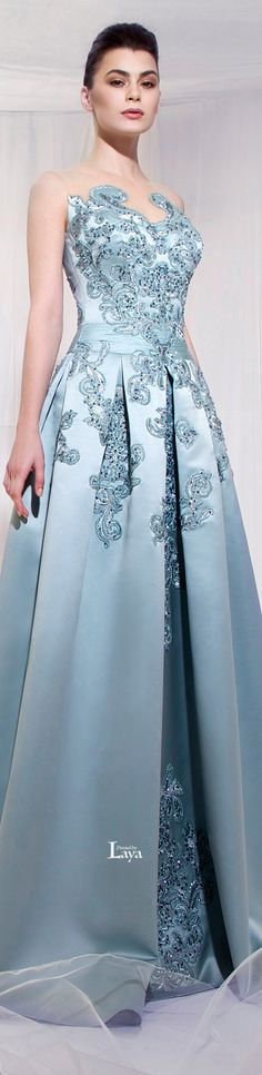 New dress princess blue haute couture ideas Elegant Dresses, Pretty Dresses, Blue Dresses, Formal Dresses, Beautiful Gowns, Beautiful Outfits, Elisa Cavaletti, Dream Dress, Dress To Impress