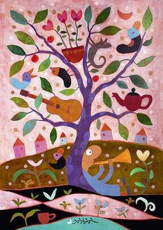 Way of Life ~ Tree of Life ~ by Leunig