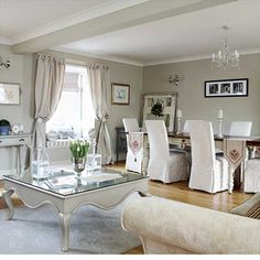 Open-plan dining and living room | Living rooms | Design ideas | Image | Housetohome