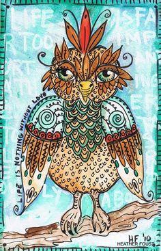 'KooKoo Bird' by Heather Foust