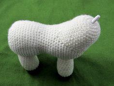 Rainbow Donkey / Unicorn Crochet Pattern by Squirrel Picnic Crochet Unicorn Pattern Free, Crochet Deer, Crochet Amigurumi Free Patterns, Crochet Animals, Crochet Toys, Crochet Stitches, Free Crochet, Knitting Patterns, Unicorn Horse