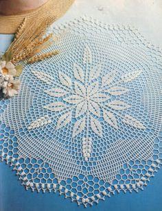 World crochet: Napkin 194