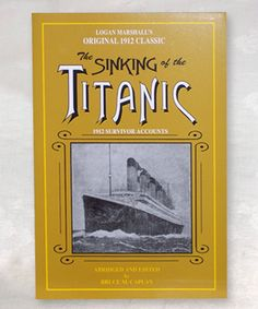 The Sinking of the Titanic 1912 Survivor Accounts- Titanic Museum Attraction in Branson, Missouri and Pigeon Forge, Tennessee