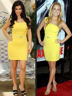 Who wore it better? Kim Kardashian or Kristin Cavallari