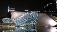 Zaha Hadid - opera house - Guangzhou