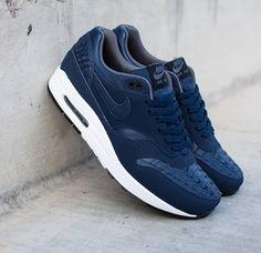 Nike Air Max 1 Woven Blue at Bait Locations