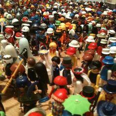 Minha coleção há 5 anos!!!! #Playmobil