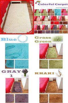 [Visit to Buy] Free Shipping Rectangle Carpet Rug Bath Mat Shaggy Rug Doormat Absorbent Non-Slip Prayer Mats Tapetes Para Quato Nice Alfombras #Advertisement