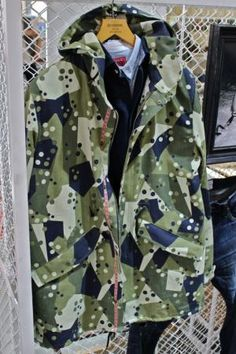 #new #camouflage #geometric #pattern #khaki #jacket #camo