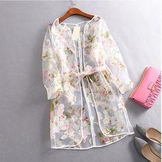 Pakistan Kimono Indian Sari Summer Style Women Skirts Of Tulle Roupas Femininas Ladies Skirts Transparent Organza With Belt 5 Hijab Fashion, Fashion Dresses, Hijab Stile, Indian Skirt, Indian Fashion, Womens Fashion, Kurti Designs Party Wear, Looks Style, Blouse Styles