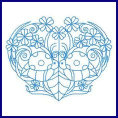Whimsical Hearts - Free Instant Machine Embroidery Designs