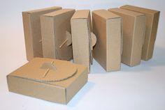 PAPEL Y CARTÓN: Cajas de cartón