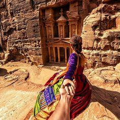 Petra (the photo series by Russian Photographer, Murad Osmann) Amazing Photography, Nature Photography, Travel Photography, Portrait Photography, Murad Osmann, Rose City, Holiday Resort, Photo Series, Petra