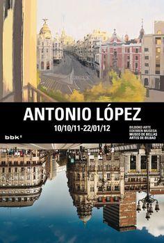 Antonio López in Bilbao Fine Arts Museum