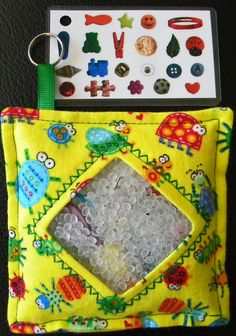 Spy bag, love this for the kids in a long car ride..