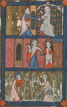 klikni pro další 123/150 Medieval Life, Medieval Fashion, Medieval Art, Medieval Manuscript, Illuminated Manuscript, Diapering, 14th Century, Historical Clothing, Renaissance