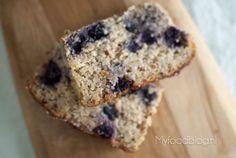 Glutenvrij bananenbrood met blauwe bessen - My Food Blog