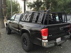 Tacoma Bed Rack: Active Cargo System for Long Bed 2016+ Toyota Trucks