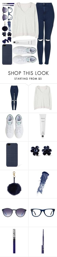 """""""why I shouldn't have let you go"""" by pepperxnostalgia ❤ liked on Polyvore featuring Topshop, MANGO, adidas, Rodin, FOSSIL, Hring eftir hring, Bobbi Brown Cosmetics, X-Ray, Muse and MAC Cosmetics"""