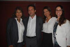 Rosangela Gonçalves, do Windsor, Fernando Horta, do SulAmérica, Viviane Campano, do Maracanã e Milena Palumbo, do Riocentro