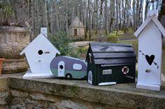 Lovely Collection - Birdhouses. Handmade By Cor van de Velde Petite Maison Daglan