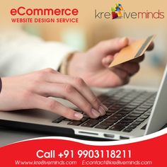 #eCommerce website design. Call us at +91 9903118211