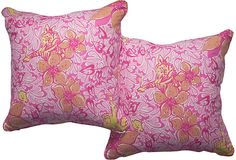 Lilly in the home? awesomeeee!! Lily Pulitzer Pillows, Pair  On sale until 6/14/12!