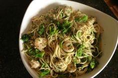 spaghetti-garlic-shrimp-broccoli-143284 Image 1