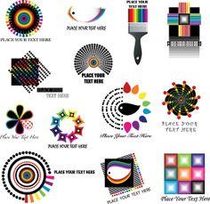 Color LOGO Wen xiang vector map