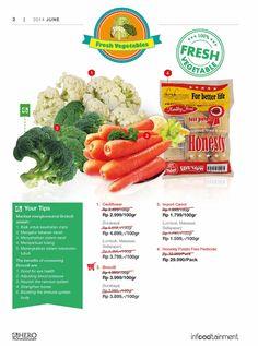 Ingin mendapatkan Fresh Vegetables dengan kualitas yang terbaik? Ayo Fresh People, belanja di Hero sekarang juga