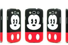 86hero Disney Mickey Mouse Cute Hard Back Case Cover for Samsung Galaxy S3 S III I9300