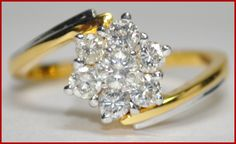 """Sweetdom""...only $800 or P35,200!!   0.83ctw ROUND DIAMOND H/I 14k YELLOW GOLD RING! Imported, world-class quality, not pre-owned, not pawned, not stolen. WE DELIVER WORLDWIDE ♥"