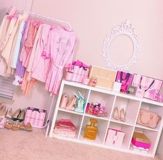 The Beauty Room Subscription is for lovers of makeup and beauty to receive quality beauty room organizers every month to organize their makeup collection and their jewelry collection. Dream Bedroom, Girls Bedroom, Bedroom Decor, Bedrooms, Dream Rooms, My New Room, My Room, Ikea Mulig, Kawaii Bedroom