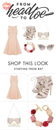 """""""From Head To Toe"""" by salahmariamghazaly on Polyvore featuring Oasis, Carvela, River Island and Oscar de la Renta"""