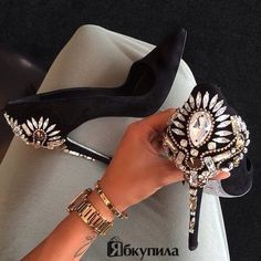#shoes #studs #beauty ..PUSH and choose ...Image 1 of 100
