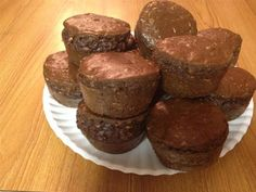 CLEAN Chocolate PB Cupcake - The Kitchen Table - The Eat-Clean Diet®