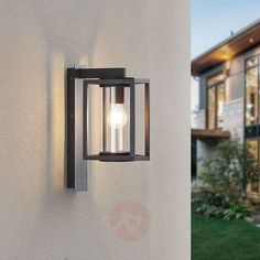 84€ | Lucande Ferda outdoor wall light, hanging | Lights.ie