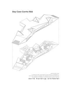 Image 30 of 30 from gallery of Råå Day Care Center / Dorte Mandrup Arkitekter. Axonometric