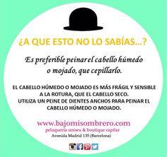 @bajomisombrero #consejo #consell #pelo #cabell #peluquería #perruqueria #look #bcn #barcelona #frases #fashionblog #looktheday #lookbook #outfit #itgirl #toppic #instagrampic #bestpic #streetstyle #beauty #blogdemaquillaje #bloggerdebelleza #blogdebelleza #skincare #look