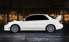 White 2006 Subaru Impreza WRX STI