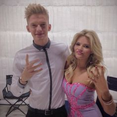 dancing with the stars 2014 instagram cody simpson witney carson