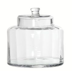 Glass Sweet Jar- filled with Woolie's fine pic'n'mix