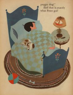Pets for Peter. Illustrated by Aurelius Battaglia (1950)