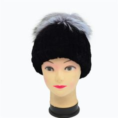 e3a1c47667a Winter Fur Hat For Women With Natural Real Fur Female Cap Women Winter Hat  rabbit Fur