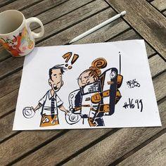 Monday mood sketch #astronaut n1699 #itscominghome @procreate #ipadproart  #art #draw #draws #cartoon #drawingoftheday #dailydrawing #artwork #dailyart #artoftheday #concept #drawing #arts #sketchbook #conceptart #arts #doodle #illustration #sketch #instaart #instadraw #instaartist #instadaily