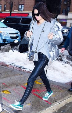 Kendall Jenner has been wearing the same three sneaker styles on repeat this fashion week circuit.