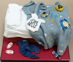 80's Bed Cake by neviepiecakes, via Flickr