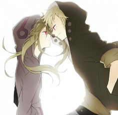 Kido and Kano, they almost remind me of Raven and Beast Boy from Teen Titans!