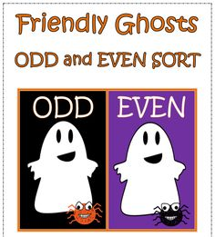 "FREE MATH LESSON - ""Friendly Ghosts Odd and Even Sort"" - Go to The Best of Teacher Entrepreneurs for this and hundreds of free lessons.  http://thebestofteacherentrepreneurs.blogspot.com/2012/10/free-math-lesson-friendly-ghosts-odd.html"